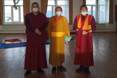 Делегация Калмыкии посетила Буддийский университет «Даши Чойнхорлин»