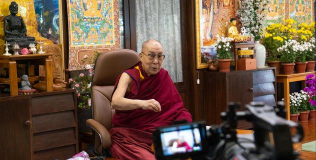 Прямая трансляция. Его Святейшество Далай-лама. Лекция на тему «Буддизм, наука и сострадание»