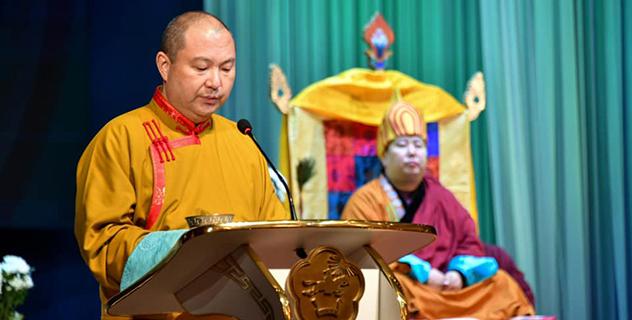 Тэло Тулку Ринпоче принял участие в торжественной церемонии интронизации Девятого Камбы-ламы Республики Тыва