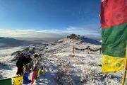 «Объединиться в молитве». Тэло Тулку Ринпоче принял участие в совместном паломничестве по святым местам Тувы