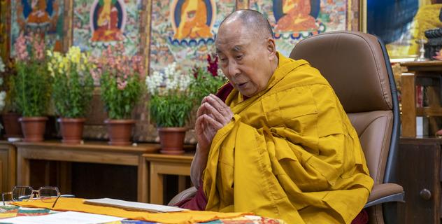 Прямая трансляция. Его Святейшество Далай-лама. Учение по случаю Дня явления чудесных сил Будды Шакьямуни