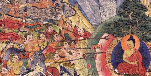 Онлайн-лекция Валполы Пьянанды «Десять армий Мары»