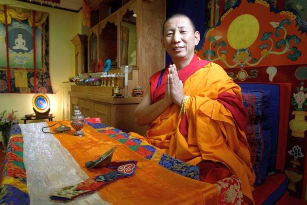 Геше Денма Гьялцен дарует учения бонской материнской тантры