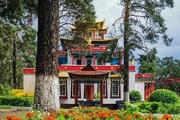 Фоторепортаж. Читинский дацан – место, где собран рис учения Будды