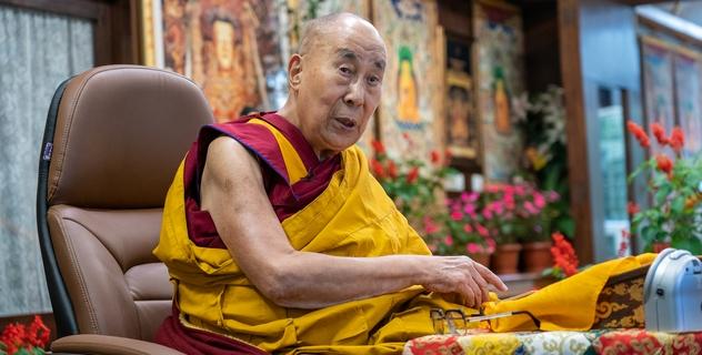 Его Святейшество Далай-лама. Прямая трансляция. Восхваление взаимозависимого происхождения